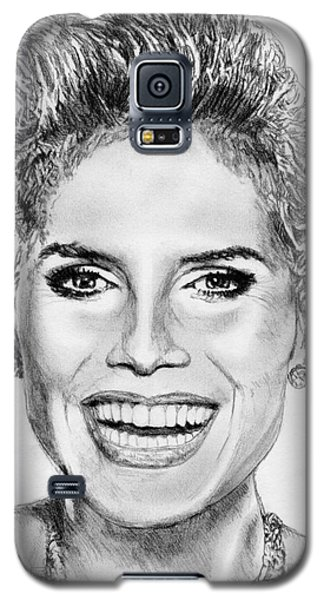 Heidi Klum In 2010 Galaxy S5 Case