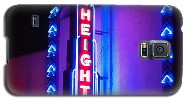 Galaxy S5 Case featuring the photograph Heights Theater by Cheri Randolph