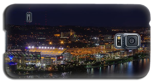 Heinz Field At Night From Mt Washington Galaxy S5 Case