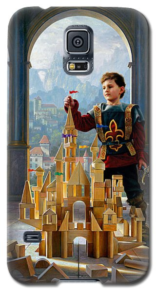 Knight Galaxy S5 Case - Heir To The Kingdom by Greg Olsen