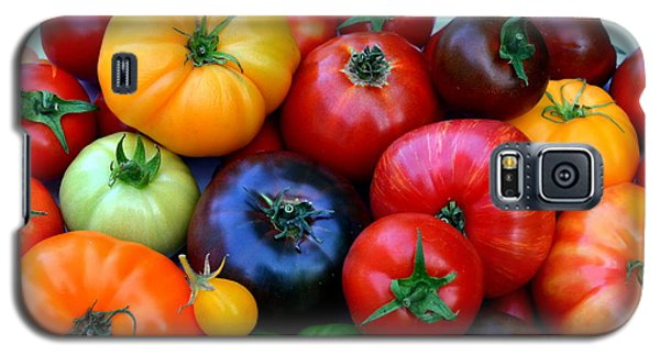 Galaxy S5 Case featuring the photograph Heirloom Tomatoes by Vivian Krug