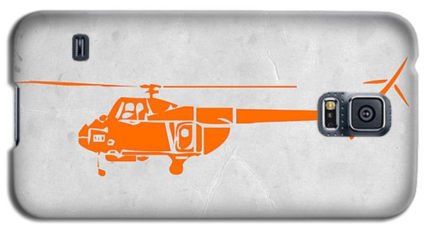 Helicopter Galaxy S5 Case - Helicopter by Naxart Studio
