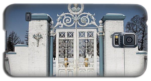 Helis Stock Farm Gate Galaxy S5 Case