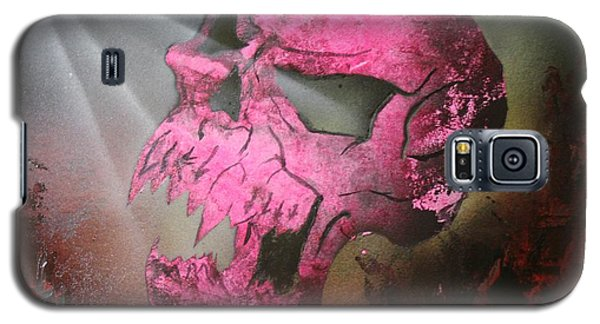 Galaxy S5 Case featuring the painting Hell by Tbone Oliver