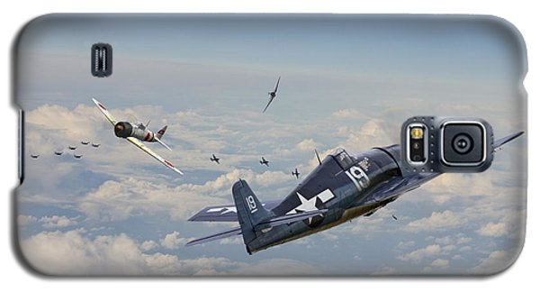 Hellcat F6f - Duel In The Sun Galaxy S5 Case by Pat Speirs