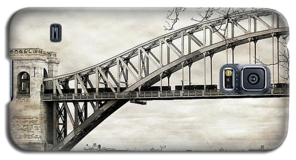 Hellgate Bridge In Sepia Galaxy S5 Case