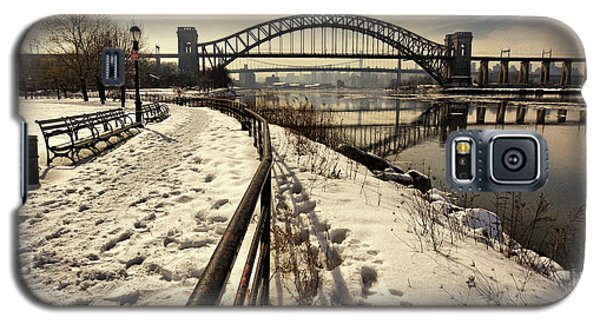 Hellgate Bridge In Winter Galaxy S5 Case