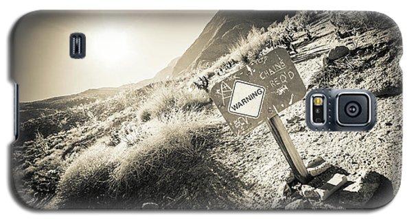 Hellhole Canyon Warning Galaxy S5 Case