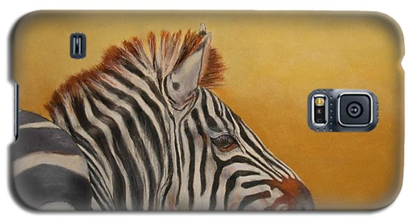Galaxy S5 Case featuring the painting Hello Africa by Ceci Watson