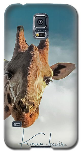 Galaxy S5 Case featuring the photograph Hello Down There by Karen Lewis