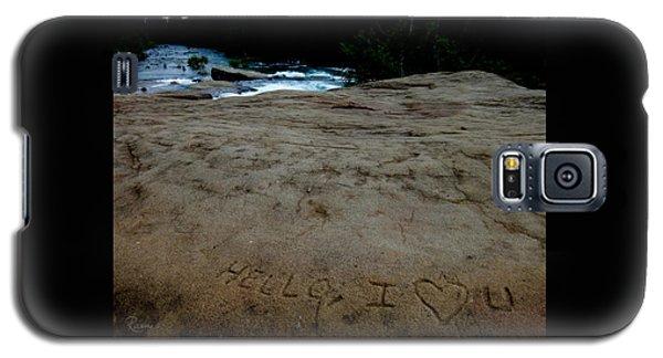 Hello I Heart U Galaxy S5 Case