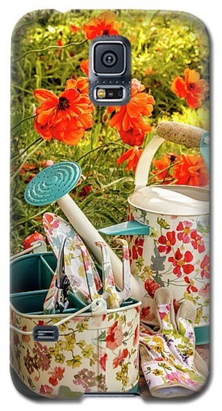 Galaxy S5 Case featuring the photograph Hello Summer by Teri Virbickis
