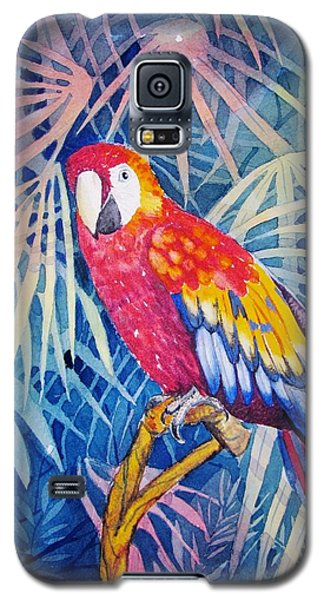 Galaxy S5 Case featuring the painting Hello There by Martha Ayotte