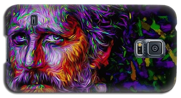#hellonwheels #hellonwheelsamc #paint Galaxy S5 Case by David Haskett