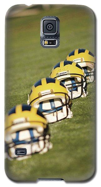 Helmets On Yard Line Galaxy S5 Case