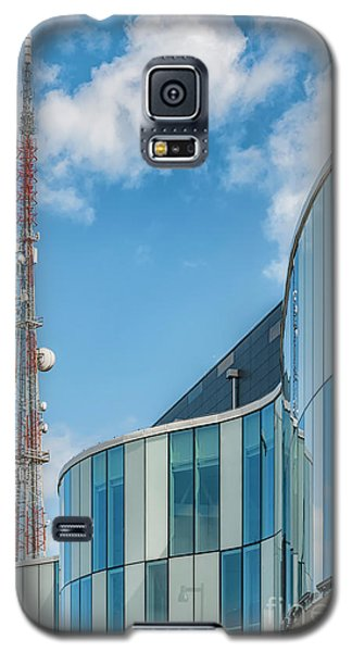 Galaxy S5 Case featuring the photograph Helsingborg Arena Concert Hall by Antony McAulay