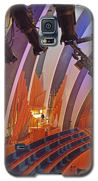Galaxy S5 Case featuring the photograph Helzberg Hall #3 by Jim Mathis