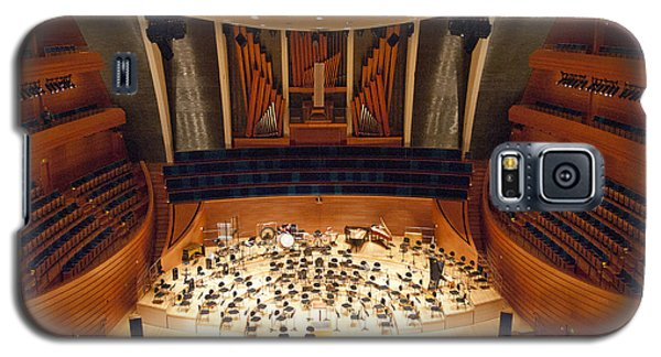 Galaxy S5 Case featuring the photograph Helzberg Hall by Jim Mathis