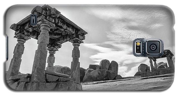 Galaxy S5 Case featuring the photograph Hemakuta Hill, Hampi, 2017 by Hitendra SINKAR
