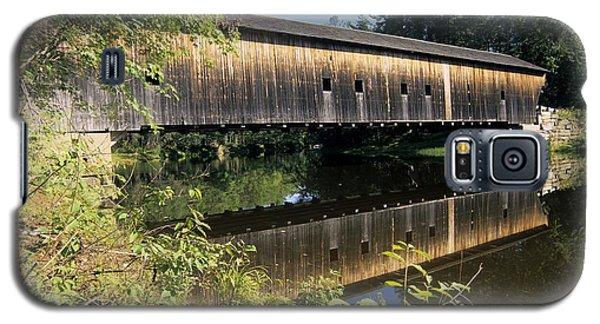 Hemlock Covered Bridge - Fryeburg Maine Usa. Galaxy S5 Case