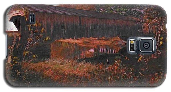 Hemlock Covered Bridge Galaxy S5 Case