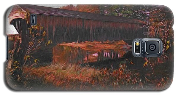 Hemlock Covered Bridge Galaxy S5 Case