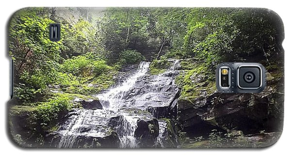 Hen Wallow Falls Great Smoky Mountains National Park Galaxy S5 Case