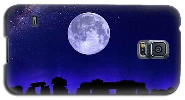 Henge Under The Supermoon Galaxy S5 Case
