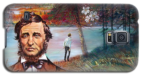 Henry David Thoreau Galaxy S5 Case by John Lautermilch