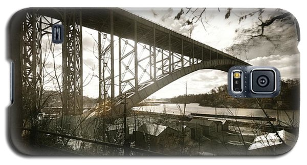 Henry Hudson Bridge, 1936 Galaxy S5 Case by Cole Thompson