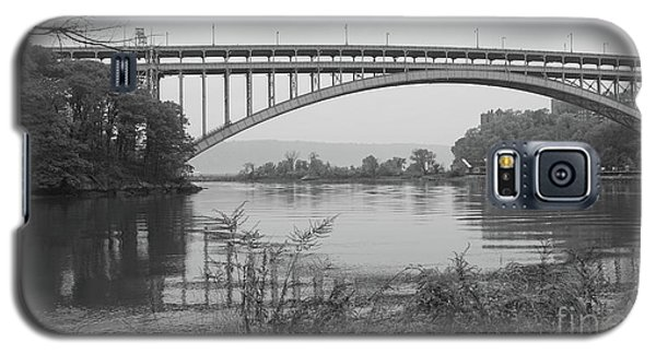 Galaxy S5 Case featuring the photograph Henry Hudson Bridge  by Cole Thompson