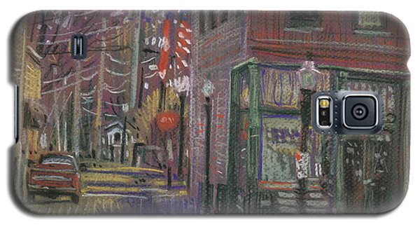 Galaxy S5 Case featuring the painting Henry's by Donald Maier