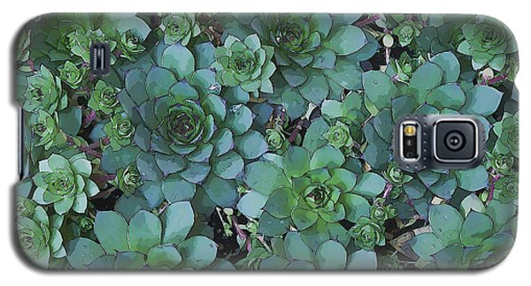 Hens And Chicks - Digital Art  Galaxy S5 Case by Sandra Foster