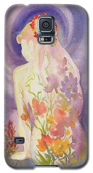 Herbal Goddess  Galaxy S5 Case