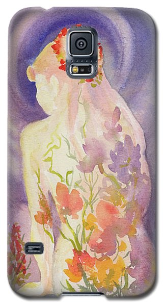 Herbal Goddess  Galaxy S5 Case