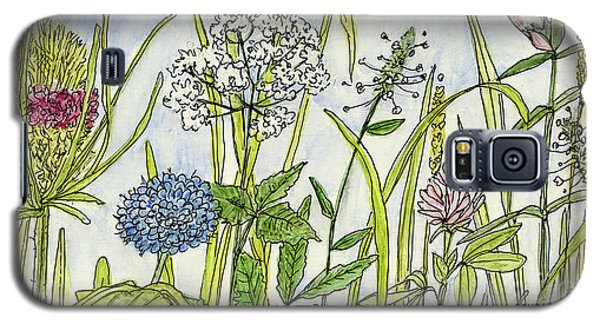 Herbs And Flowers Galaxy S5 Case