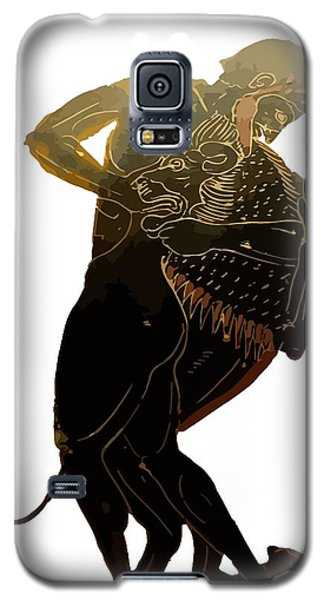 Hercules And The Nemean Lion Galaxy S5 Case