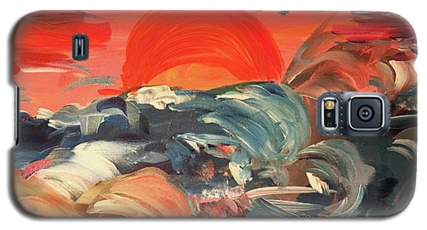 Here Comes The Weekend Aka Indian Rocks Beach Sunset Galaxy S5 Case