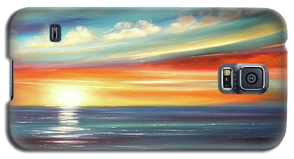 Here It Goes - Panoramic Sunset Galaxy S5 Case