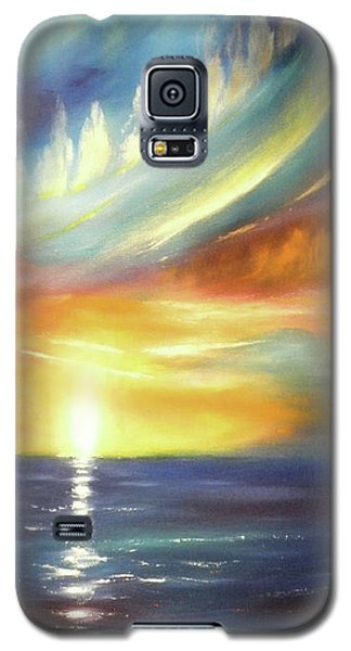 Here It Goes - Vertical Colorful Sunset Galaxy S5 Case
