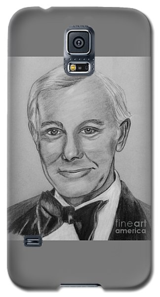 Johnny Carson Galaxy S5 Case - Here's Johnny by Sharon Ackley