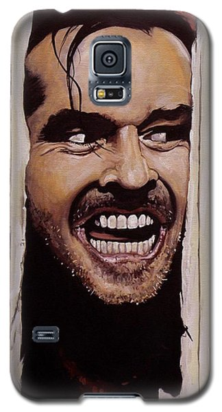 Here's Johnny Galaxy S5 Case by Tom Carlton
