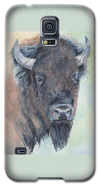 Here's Looking At You - Bison Galaxy S5 Case