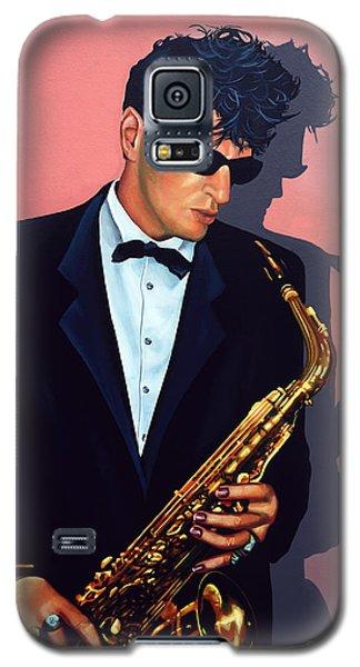 Rock And Roll Galaxy S5 Case - Herman Brood by Paul Meijering
