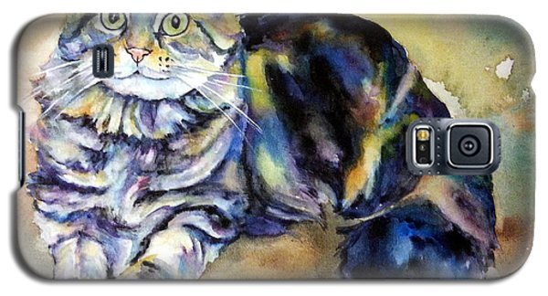 Galaxy S5 Case featuring the painting Hermione by Christy Freeman