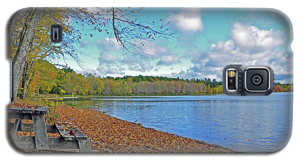 Fall Picnic In Maine Galaxy S5 Case