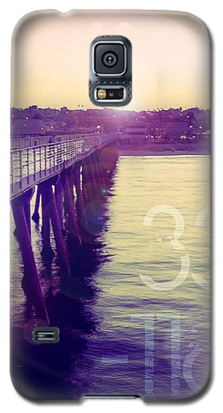 Hermosa Beach California Galaxy S5 Case by Phil Perkins