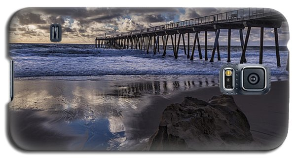 Hermosa Beach Pier Galaxy S5 Case by Ed Clark
