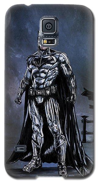 Galaxy S5 Case featuring the painting Hero by Andrzej Szczerski