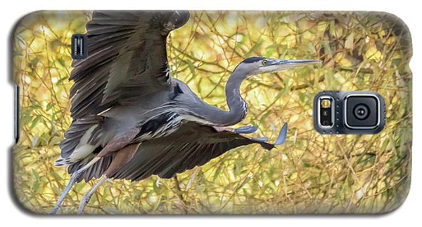 Heron In Flight Galaxy S5 Case